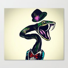 Lowly Worm Canvas Print