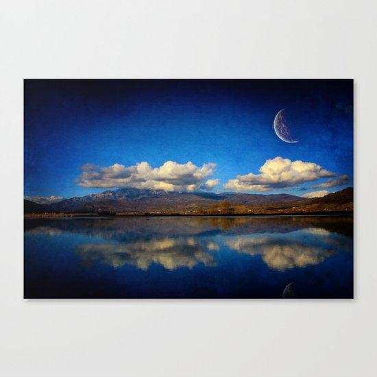 Epic Autumn Blues  Canvas Print