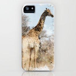 Lofty Giraffe iPhone Case