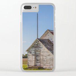 Freedom Township School, North Dakota 5 Clear iPhone Case