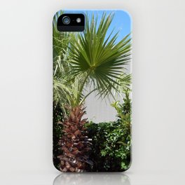 Landscape and plants in Marmaris, Turkey iPhone Case
