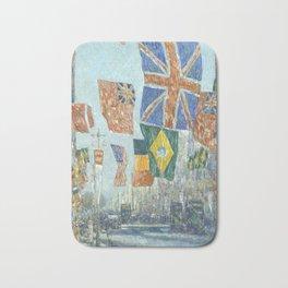 Childe Hassam Avenue of the Allies, Great Britain Bath Mat