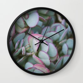 Succulent Jungle Wall Clock