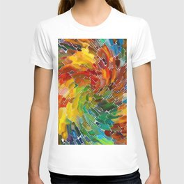 Upright Stained Twist T-shirt