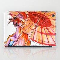 japanese iPad Cases featuring Japanese by Cemile Demir Uzunoglu