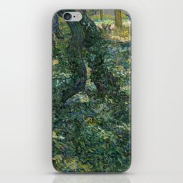 """Vincent Van Gogh """"Trees and undergrowth"""" iPhone Skin"""