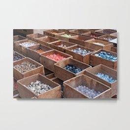 Bead collection at Paris Metal Print