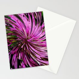 Floral Swirl Stationery Cards