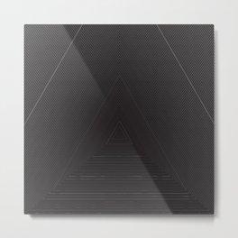 Overhead Pyramid Metal Print