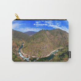 River going down the mountain (landscape) Carry-All Pouch