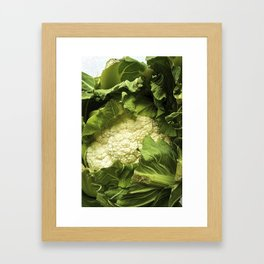 Cauliflower Framed Art Print