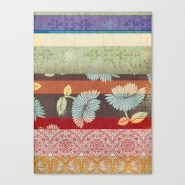 Color Strips Canvas Print