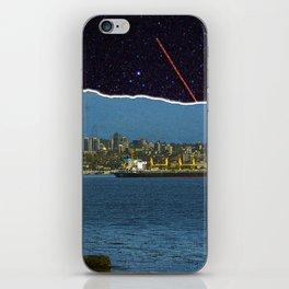 Stars in Vancouver Harbor iPhone Skin