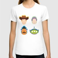 toy story T-shirts featuring Toy Story by Raquel Segal