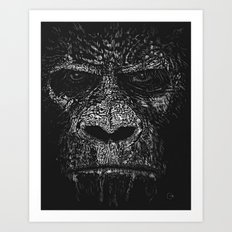 The Apes Will Rise One Day Art Print