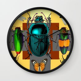 BUGGY INSECT LOVERS ART Wall Clock