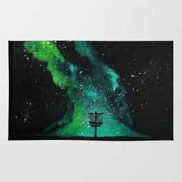 Green Galaxy Discing Rug