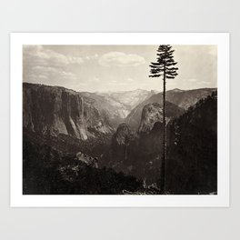 Yosemite Valley, California Art Print