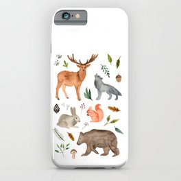Forest team iPhone Case