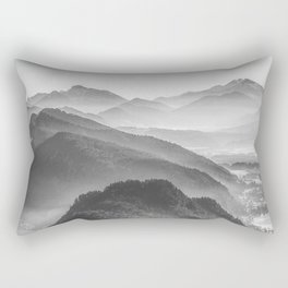 Balloon ride over the alps 3 Rectangular Pillow