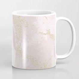 Elegant modern blush pink gold pastel marble Coffee Mug