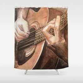 Acoustic Shower Curtain