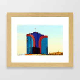 Rio Tower Framed Art Print