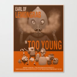 Too Young Canvas Print