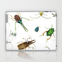 Bug Life - Beetles - Bugs - Insects - Colorful - Insect Pattern Laptop & iPad Skin