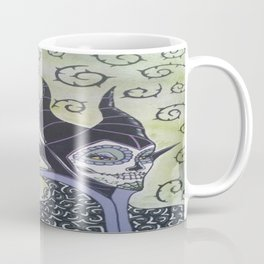 Maleficent Sugar Skull Coffee Mug
