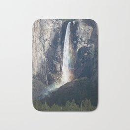 Bridalveil Falls, Yosemite California Bath Mat