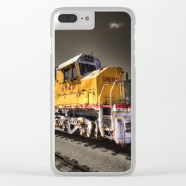 Union Pacific Centennial Clear iPhone Case
