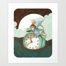 Sleep Fairy Art Print