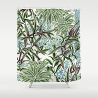 tool Shower Curtains featuring Canopy by Vikki Salmela