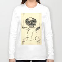 teddy bear Long Sleeve T-shirts featuring Teddy bear by Attila Hegedus