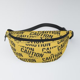 Caution Fanny Pack