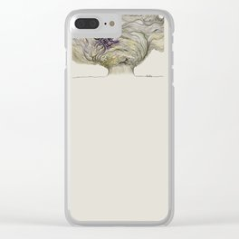 calm after the storm Clear iPhone Case
