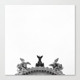 Minimal City III Canvas Print