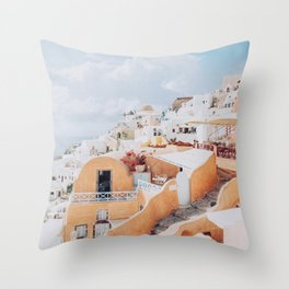 santorini ii Throw Pillow