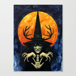 Autumn Conjurer Canvas Print