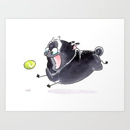 BALL! Art Print