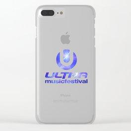 ULTRA MUSIC FESTIVAL Clear iPhone Case