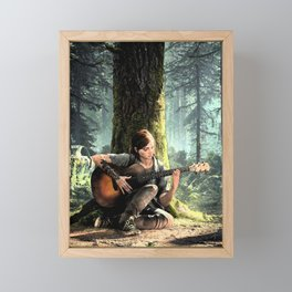 The Last Of Us Framed Mini Art Print