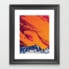 Stand on Europa Framed Art Print
