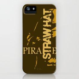 Straw Hat Pirate iPhone Case