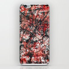 Imogene in Red iPhone & iPod Skin