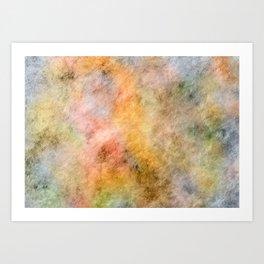 Dreamy Steamy Art Print