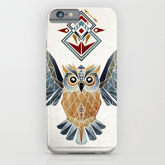 owl winter iPhone & iPod Case