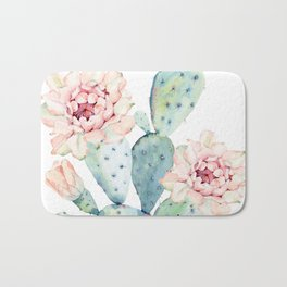 The Prettiest Cactus Bath Mat