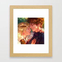 Hiccstrid Framed Art Print